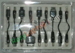 Charger HP Pada Mobil 9in1 Mobile Universal Charger