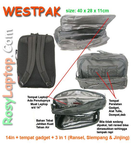 Tas Westpak 3in1