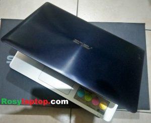 Jual laptop bekas asus a456ur biru